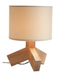 Diseño Estilo Trípode Característica L 220V LED Warm Lámparas de mesa de madera