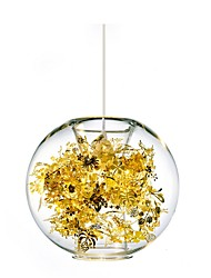 Max 60W Modern/Contemporary / Globe Others Glass Pendant Lights Living Room / Bedroom / Dining Room / Study Room/Office / Hallway