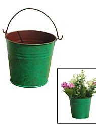 Criativas Restaurando maneiras antigas, Simple Green Tin Bucket