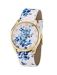 mulheres de couro mulan pu vestir relógio-109 (cor da tela)