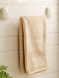 Orange® Mediterranean Strong Suction Silicone Towel Bar Bath Towel Holder White 1Piece