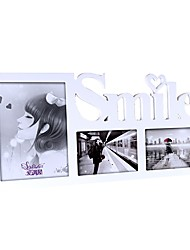 White Wall-sticked Frame Set