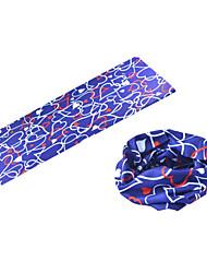 BOODUN Heart Multi-Functional Seamless Polyester Spandex Magic Scarf Headband