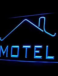 For Motel Advertising LED Light Sign