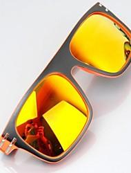 Kunststoffrahmen PC Objektiv winddichte Sonnenbrille Unisex