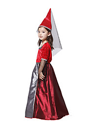 Halloween Costume sanguinosa Witch Red poliestere Kids '