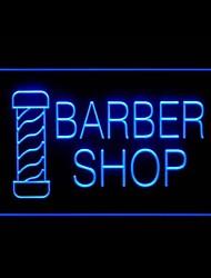 парикмахерская реклама привело свет знак