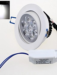 белый свет Светодиодная лампа потолка (AC 85 ~ 265В) 7w