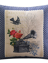 algodón de la flor romántica / ropa cubierta decorativa almohada