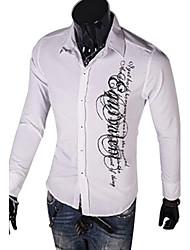 yess neuen Stil, Mode, einzigartige gedruckte Shirt (hellblau, weiß, schwarz, rot)