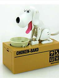 Modern Feed Him Coin Dog Design Money Box