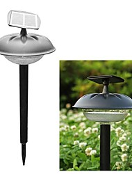 20-LED Plastic Solar Modern Lawn Light Garden Pathway stake lamp
