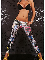 Women's Punk Funky Stretchy Tight Leggings