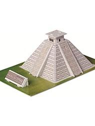 jouets éducatifs magie pyramide puzzle maya modèle egypte puzzle de 3d pour les enfants et puzzle adulte Puzzle (19pcs)