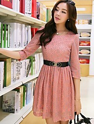 Women's Bodycon / Casual / Lace / Vintage Dress Mini Lace