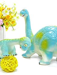2 Stück Brachiosaurus Dinosaurier Gummianzug Action-Figuren Spielzeug-Modell