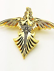 Jewelry / Badge Inspired by Final Fantasy Cosplay Anime/ Video Games Cosplay Accessories Badge Golden Alloy Male / Female