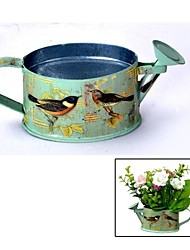 Wrought Iron Oval Multi-functional Watering Pot