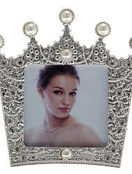 Crown Shaped European Style Alloy Photo Frame