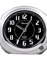 "Telesonic™  3""H Night-light Snooze  Taxiing Super Mute Alarm Clock"