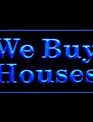 мы покупаем дома Светодиодная рекламная света знак