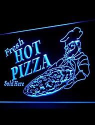 Flesh Hot Pizza Publicité LED Connexion