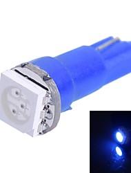 0,25 W T5 14LM Luz 1x5050SMD LED Azul para Coche Indique Dashboard Ancho Lámparas (DC 12V 1pcs)