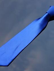 xinclubna® Männer Polyester royalblau Farbe 7cm dünne Krawatten (1pc)