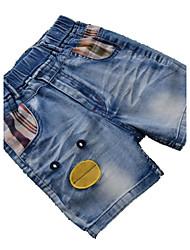 Shorts / Vaqueros Boy-Verano / Primavera / Otoño-Algodón