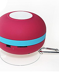 New Mini Ultra Portable Wasserdicht IPX-4 Stereo Bluetooth Lautsprecher TF-Red