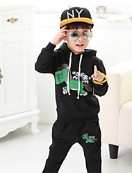Boy's Cotton / Polyester Clothing Set,Spring / Fall