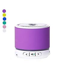 KUBEI 288F mini draagbare V4.0 Bluetooth Speaker FM / TF / MIC/AUX- (Paars / Geel / Blauw / Groen / Roze / Zilver)