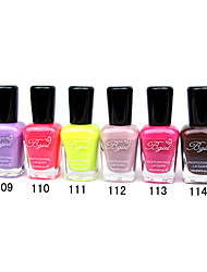 French Imports Makings Pro-environment Nail Polish NO.109-114(16ml,Assorted Color)
