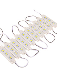 Z®ZDM 12W 30x5630SMD 1100-1300LM 3000K Warm White LED Light Plastic Shell Rectangle Module (DC 12V)