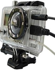 Can Through The Opening Side Protection Shell (Lnsert USB and AV Line) Is Suitable for The Gopro Hero2 1