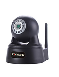 ZONEWAY® H.264 1.0 Megapixel CMOS P2P IP Camera with ONVIF Protocol and 12pcs LED IR Night Vision