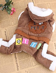 New Suede Dog Clothes for Pet Dogs(Assorted Size)
