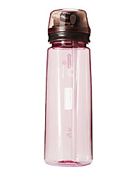 ACANU 750ML Pink Plastic Cycling Bottle with Drinking Straw