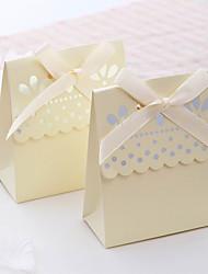 Светло-желтая коробочка (набор из 12)