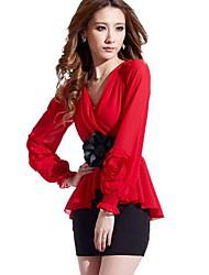 sanfenzise ™ v pescoço pacote costura hip mini vestido das mulheres