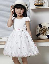 бб&б 2014 девушки, лето, новый вышивать среднего принцесса моды красивое платье