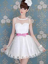 Women's Dresses , Nylon/Polyester/Spandex Casual DABUWAWA