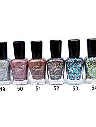 French Imports Makings Pro-environment Nail Polish NO.49-54(16ml,Assorted Color)