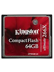 Kingston CF/64GB-U2 última tarjeta de memoria Compact Flash (64 GB / Clase 151 ~ 266X)