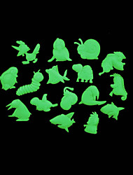 Romantic House Absorptiometric Night Lights Stickers-Animals