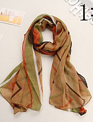 Bully Raised Grain Sunscreen Shawl Fashion Scarf