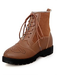 Women's Low Heel Ankle Combat Boots(More Colors)