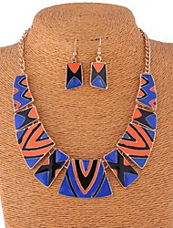 Sally Women's Bohemia Style Multi-Color Necklace