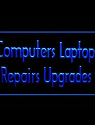 Computers Laptops Advertising LED Light Sign