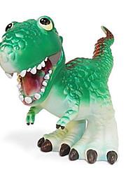 Tyrannosaurus Dinosaurier-Modell Rubber Action-Figuren Spielzeug (Grün)